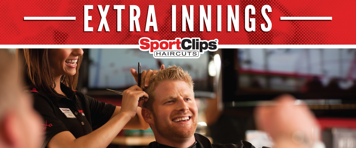 The Sport Clips Haircuts of Billings Rimrock  Extra Innings Offerings